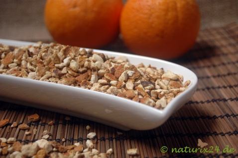 Naturix24 Orangenschalen geschnitten 50 g