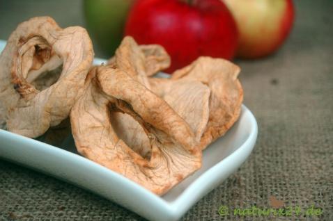 Naturix24 Apfelringe natur getrocknet 100 g