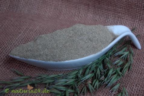 Naturix24 Grünes Haferkraut gemahlen 1 kg