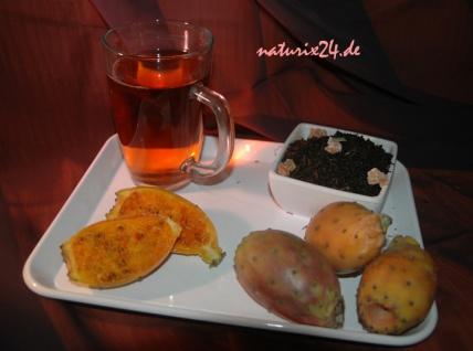 Naturix24 Schwarzer Tee KAKTUSFEIGE 250 g