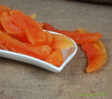 Naturix24 Honigmelone, Cantaloupe getrocknet Stücke 100 g