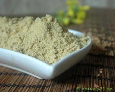 Naturix24 Senfmehl, Gelbsenf gemahlen 1 kg