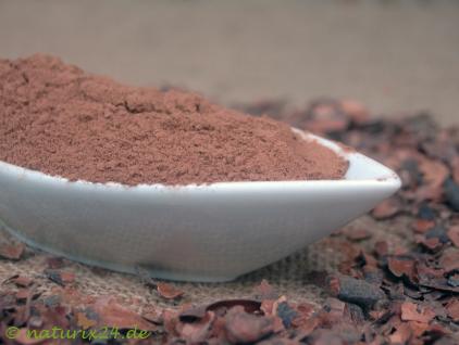 Naturix24 Kakaoschalen gemahlen 1 kg