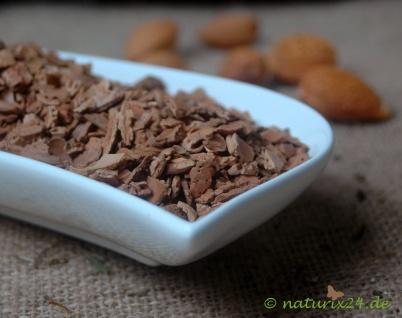 Naturix24 Mandelschalen geröstet geschnitten 250 g