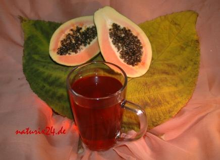Naturix24 Schwarzer Tee Papaya 100 g