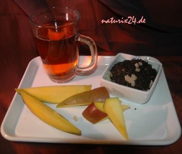 Naturix24 Schwarzer Tee Mango 100 g