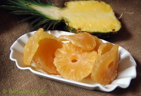 Naturix24 Ananasringe gezuckert 100 g
