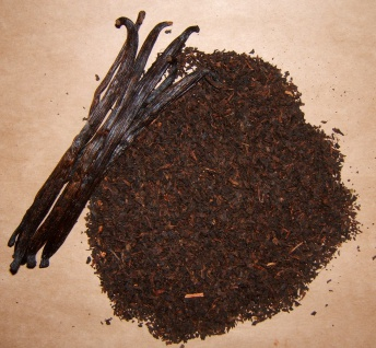 Naturix24 Schwarzer Tee Broken VANILLE 250 g