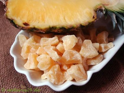 Naturix24 Ananasstücke gezuckert 1 kg