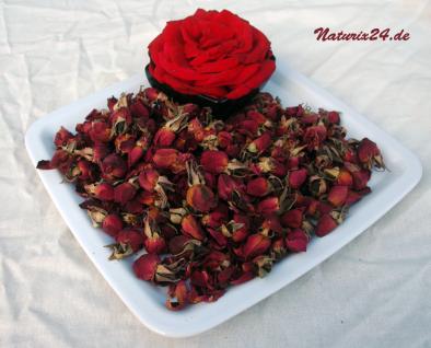 Naturix24 Rosenknospen rot ganz 500 g