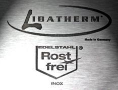 LIBATHERM Feuerschale, 0 Euro Versandkosten, 70 cm Durchm., kompl. Edelstahl V2A, Materialstärke 5, 5 mm, Feuerkorb - Vorschau 3