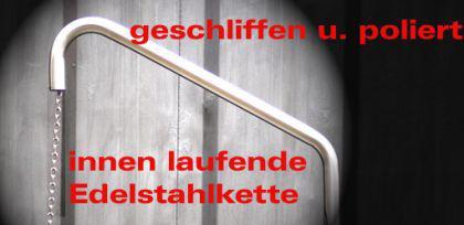 LIBATHERM Grillgalgen, 0 Euro Versandkosten, Auslegerweite 60 cm, kompl. Edelstahl V2A, + Bodenrohr - Vorschau 5