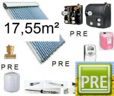 NEU Solaranlage 17, 55m² für Warmwasser und Heizung