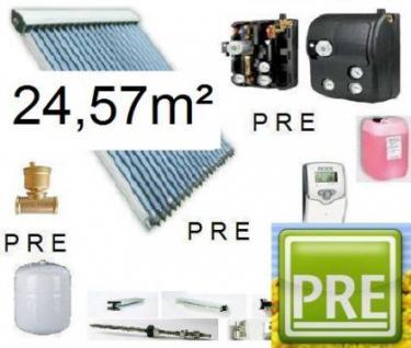 NEU Solaranlage 24, 57m² für Warmwasser und Heizung