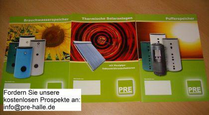 NEU Wärme Paste Röhrenkollektor Pufferspeicher - Vorschau 3