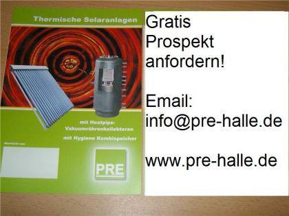 NEU Solaranlage 14, 73m² Röhrenkollektor Flachdach - Vorschau 2