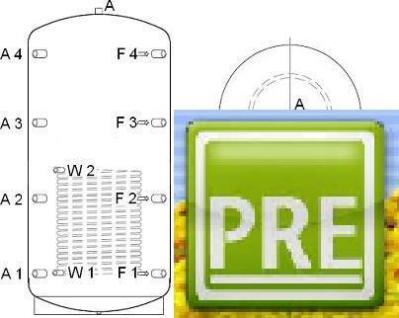 NEU Pufferspeicher 5000 L 1 WT für Solar Heizung