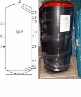 NEU Pufferspeicher 1000 L für Heizung Solar panel - Vorschau 2