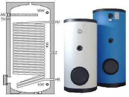 NEU Wärmepumpe Speicher 500 L 1 WT Heizung Solar - Vorschau 2