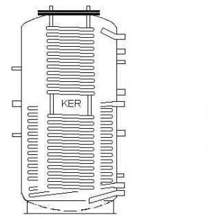 Neuer Kombispeicher 800 Liter mit 2 Wärmetauscher - Vorschau 2
