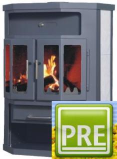 NEU Kaminofen 14 kW mit Abgasset für Haus und Heim, Wohnung, Deele, Flur