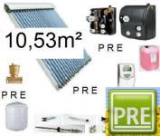 NEU Solaranlage 10, 53m² für Warmwasser Heizung