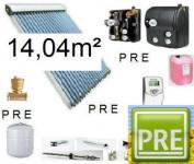 NEU Solaranlage 14, 04m² für Warmwasser und Heizung