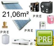 NEU Solaranlage 21, 06m² für Warmwasser und Heizung