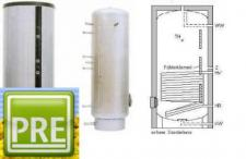 Neu Edelstahl Solar Speicher 300 Liter 1 Wt