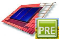 Neu Solaranlage InDach 16, 56m² für Pufferspeicher
