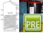 Pufferspeicher 300 Liter 1 WT Heizung Solarthermie