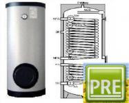 NEU Wärmepumpen Speicher 300 Liter 2WT Heizung
