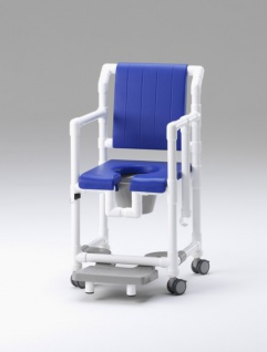 5 Tage versandfertig: Standsicherer Wohlfühlstuhl bei ALS oder MS Toilettenstuhl Profi-Duschstuhl demenzgerecht