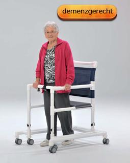 Gehwagen (GW 120) Gehhilfe Gehtrainer kippsicher demenzgerecht - Vorschau 4