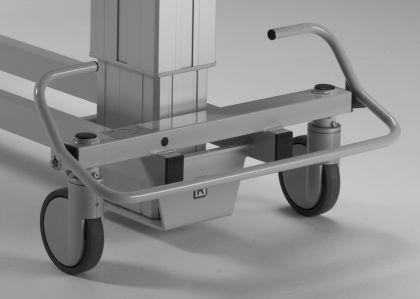 XL Duschwagen 270 kg kippbar elektrisch Duschliege höhenverstellbar - Vorschau 4