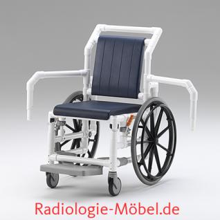 MRT Rollstuhl, Radiologie, Selbstfahrer, Duschrollstuhl, Profi-Stuhl - Vorschau 4
