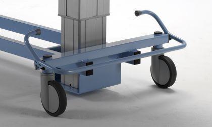 XXL Duschwagen 450 kg kippbar elektrisch Duschliege Transportliege - Vorschau 4