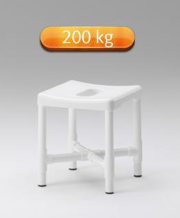 Duschhocker Adipositas standsicher 200 kg