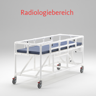 MRT Liege Radiologie taugliches Produkt absenkbare Seitenschutzlehnen - Vorschau 2