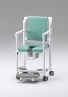 5 Tage versandfertig: Standsicherer Wohlfühlstuhl bei ALS oder MS Toilettenstuhl Profi-Duschstuhl demenzgerecht - Vorschau 4