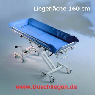 Hydraul. Kinderduschwagen 174 cm kippbar erschütterungsarm Duschwagen Duschliege - Vorschau 1