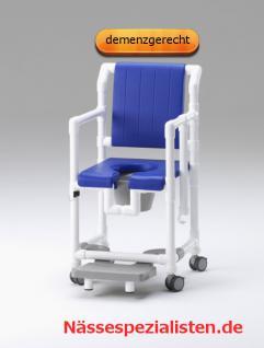 Sonderbau: Standsicherer Wohlfühlstuhl bei ALS oder MS Toilettenstuhl Profi-Duschstuhl