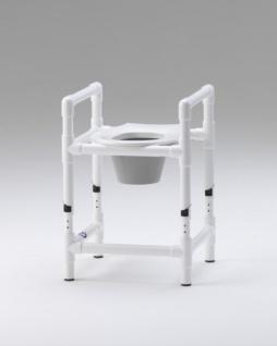 Toilettensitzerhöhung höhenverstellbar Nachtstuhl 150 kg