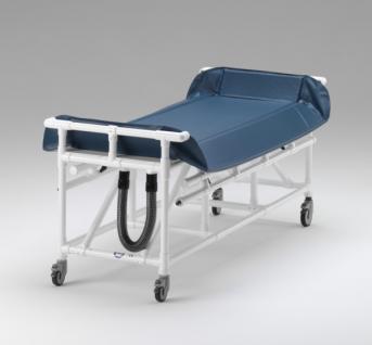 Duschwagen Rückenhöhe verstellbar Duschliege Transportliege - Vorschau 4
