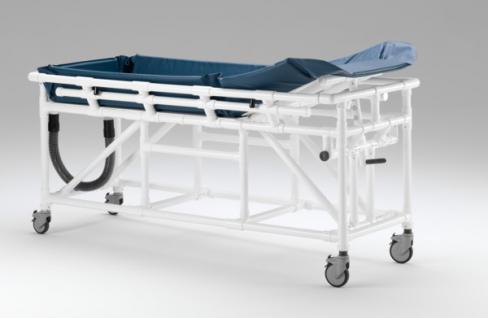 Wartungsfreier Duschwagen hoher Wasserstand Duschliege Transportliege - Vorschau 4