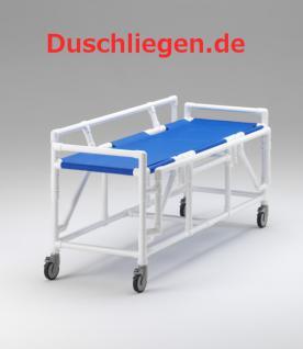 Transportliege Duschliege absenkbare Seitenschutzlehnen