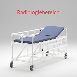 MRT Liege Radiologie taugliches Produkt absenkbare Seitenschutzlehnen