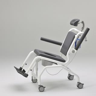 Elektrischer Duschtoilettenstuhl kippbar Parkinson Profi-Duschstuhl