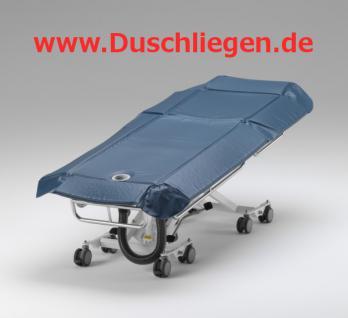Duschwagen 400 kg, BEATMUNGSPATIENTEN, tiefer Einstieg, 5 J Garantie, hydraulische Duschliege - Vorschau 5
