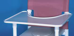 Grosse Öffnung ! Toilettenstuhl Toilettensitzerhöhung Profi-Duschstuhl - Vorschau 3